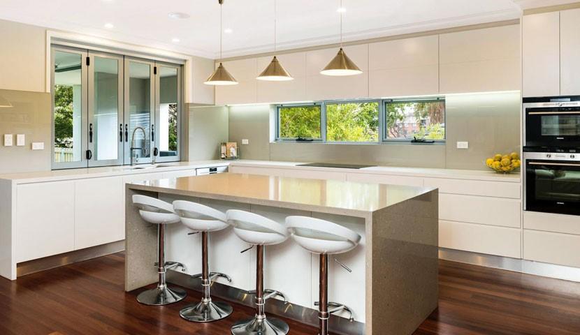استفاده از نورپردازی زیرکابینت آشپزخانه