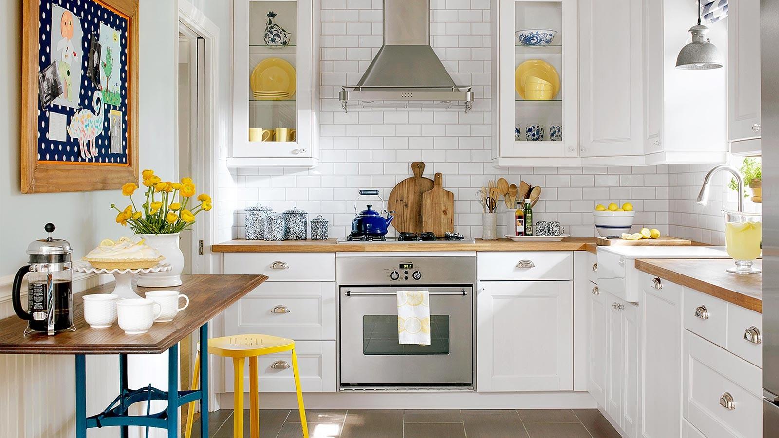 طراحی دکوراسیون با لوازم تزئینی آشپزخانه