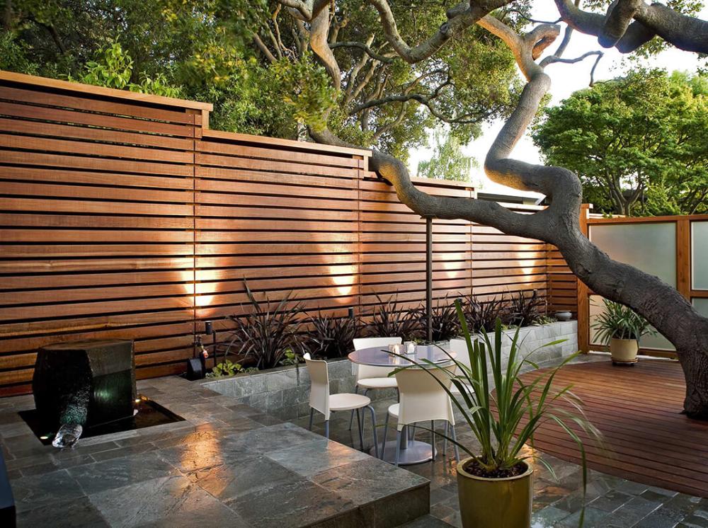 مزایای نصب نرده باغچه مدرن در محوطه باغ